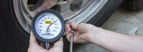Падение давления в шине